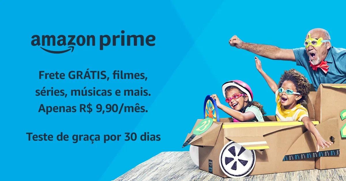 Amazon Prime Totalmente Grátis Por 30 Dias